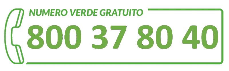 Numero verde iridac